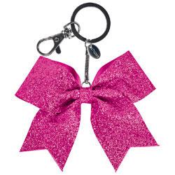 AC1410 - Chass&eacute;<sup>&reg;</sup> Mini Glitter Bow Keychain