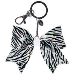AC1413 - Chass&eacute;<sup>&reg;</sup> Mini Holographic Zebra Keychain