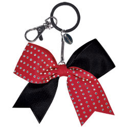 AC1416 - Chass&eacute;<sup>&reg;</sup> Mini Rhinestone Bow Keychain