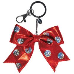 AC1512 - Chass&eacute;<sup>&reg;</sup> Mini Polka Dot Bow Keychain