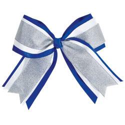 AC339 - Chass&eacute;<sup>&reg;</sup> Jumbo 3-Color Metallic Hair Bow