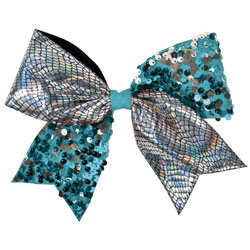 AC342 - Chass&eacute;<sup>&reg;</sup> Crackle and Sequin Performance Hair Bow