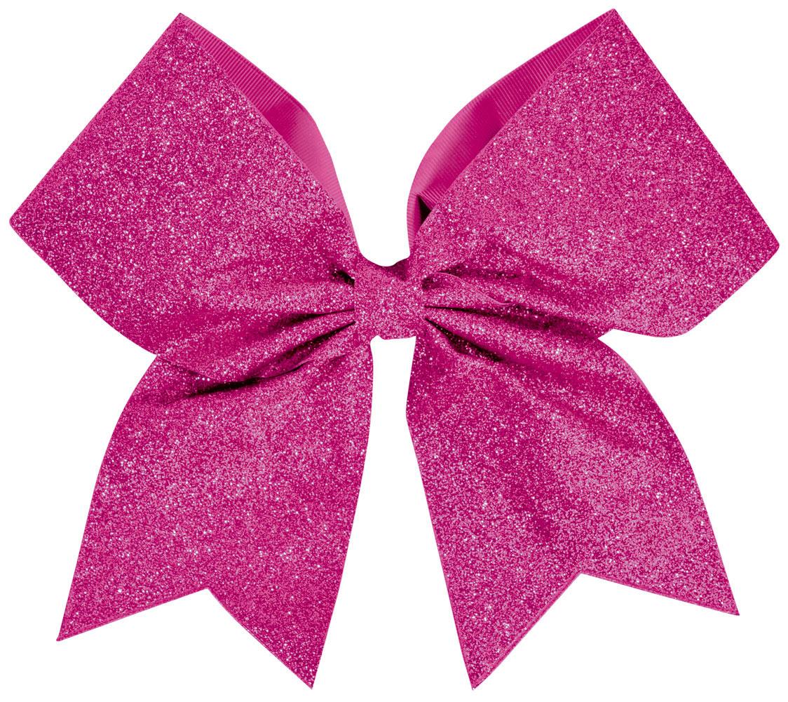 Chass 233 174 glitter performance hair bow omni cheer
