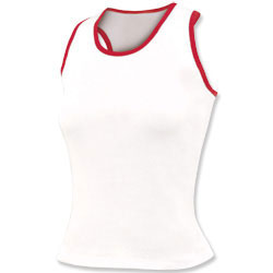 BT26GK - Chass&eacute;<sup>&reg;</sup> Fitted 2-Color Racer Back Tank