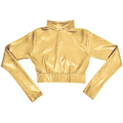 C308M - Alleson<sup>&reg;</sup> Metallic Cropped Top