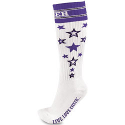 IS102 - Chass&eacute;<sup>&reg;</sup> Knee-High Star Sock