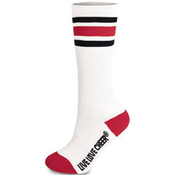 IS131 - Chass&eacute;<sup>&reg;</sup> Knee-High Striped Sock