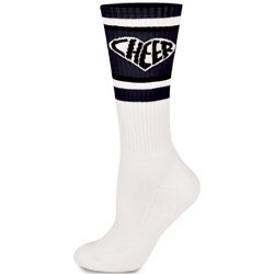 IS381 - Chass&eacute;<sup>&reg;</sup> Knee-High Heart Sock