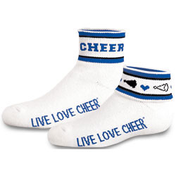 IS391 - Chass&eacute;<sup>&reg;</sup> Flip Crew Cheer Sock