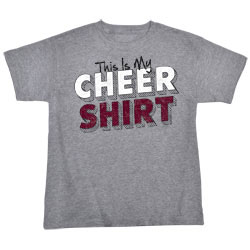 M1306TY - This Is My Cheer Shirt Tee