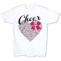 M1416TY - Glitter Bow Tee