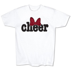 M1509TY - Cheer Bow Tee