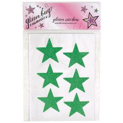 MU103 - Glitterbug<sup>&reg;</sup> Cosmetics Large Pre-Glittered Stars