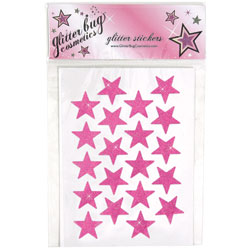 MU104 - Glitterbug<sup>&reg;</sup> Cosmetics Small Pre-Glittered Stars