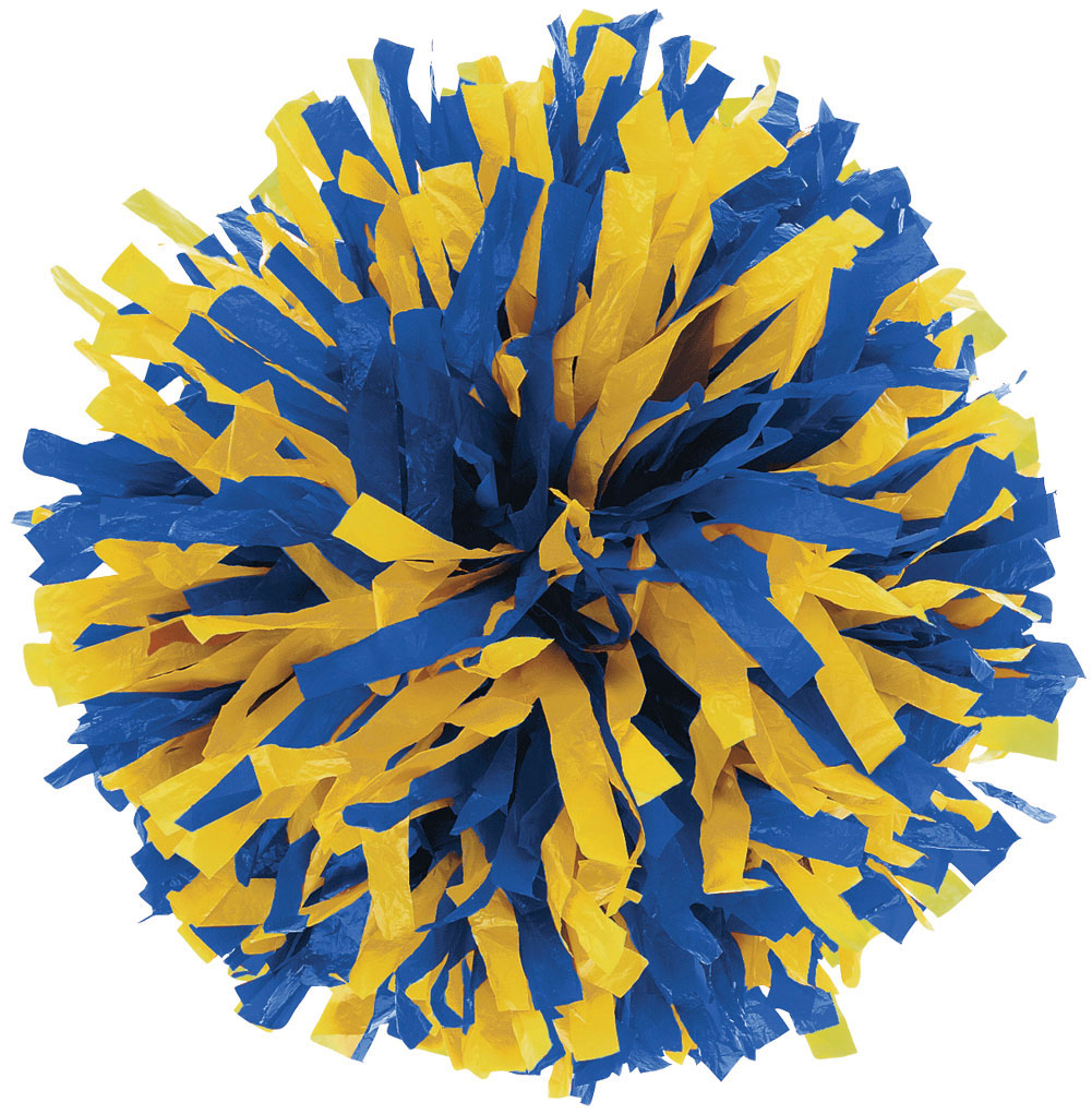 2 Color Plastic Youth Pom Omni Cheer