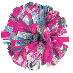 PI4423 - 2-Color Holographic Mix Youth Pom