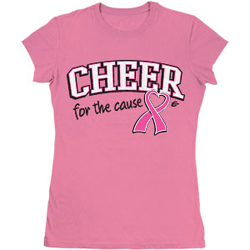 PLD4 - Cheer for the Cause<sup>&reg;</sup> Pink Tee