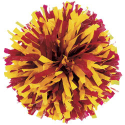 PY4412 - Custom 2-Color Plastic Mix Youth Pom